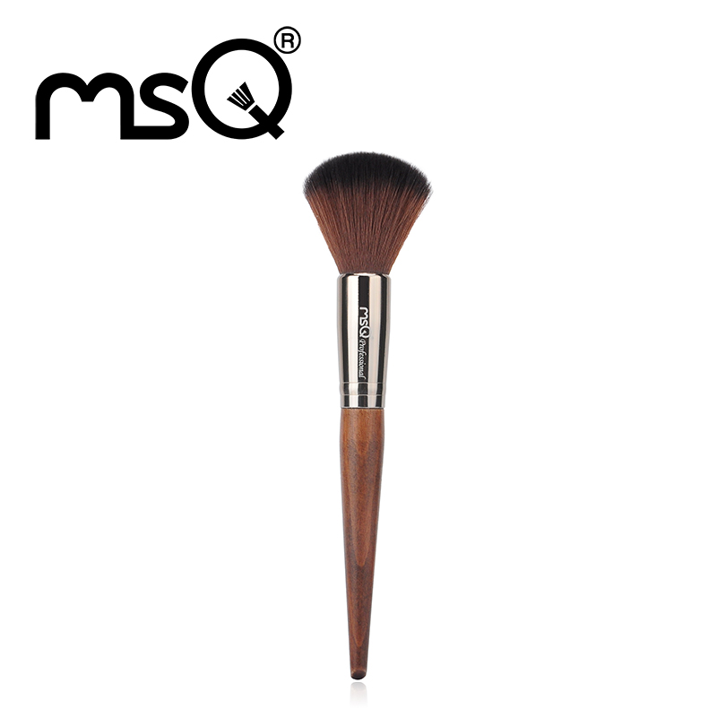 MSQ Big Beauty Powder Brush Blush Foundation Round Make Up Tool Large Cosmetics Aluminum Brushes Soft Face Makeup Free Shipping death comes as the end на английском языке