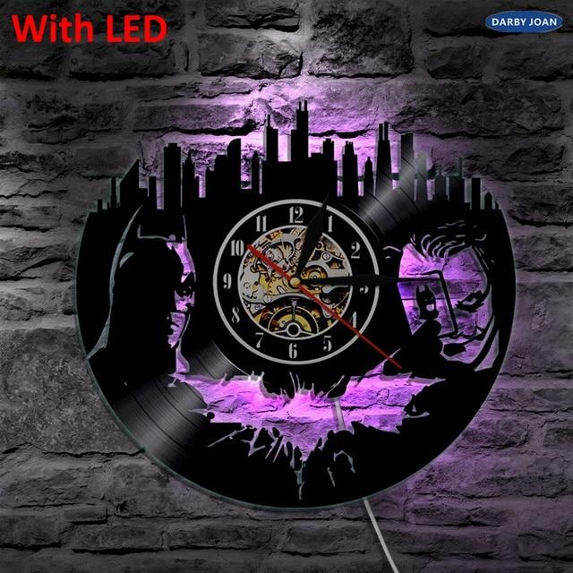 US $22 35 48% OFF|Batman Joker Gotham City Decorative Wall Lamp 12