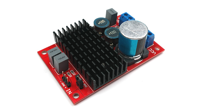 Updated TPA3116 100W Mono Digital Power Amplifier Board Balanced (Differential) Input With BTL Output