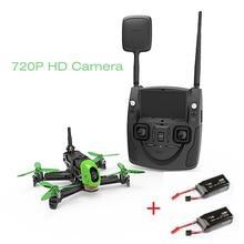 (Wth 2 batteries) Hubsan H123D X4 Jet 4CH RC Quadcopter HD 720P Camera 3D Roll Speed Racing FPV Drone RTF