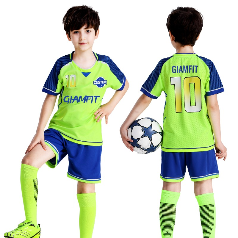 023381e98 Kids Soccer Jerseys 2019 France Jersey Soccer Football Jersey Custom Short  Sleeves Football Shirt Shorts Team