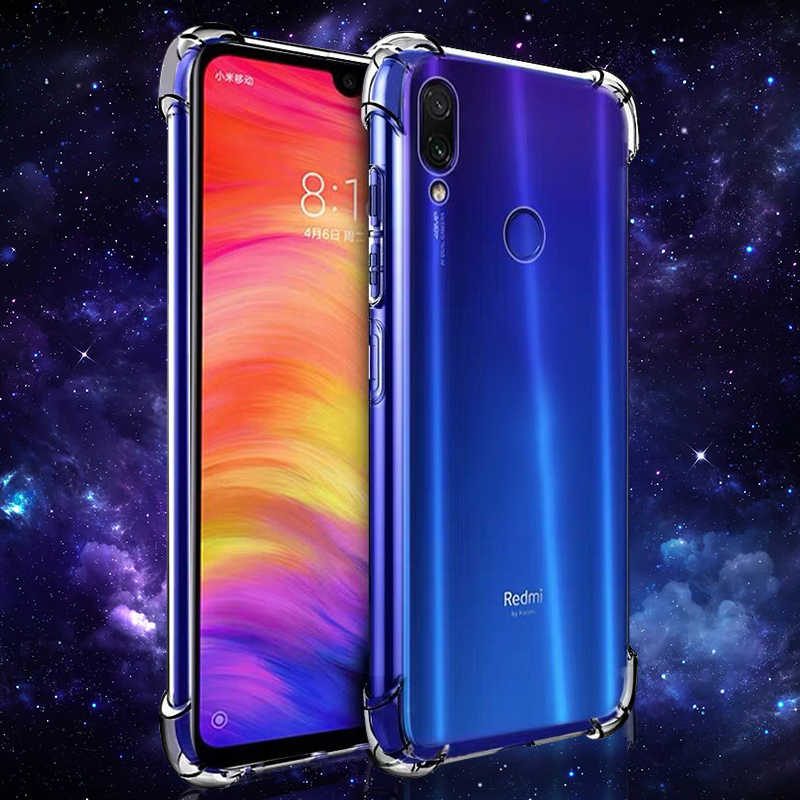 Transparent TPU Silicone Case For Xiaomi Mi 8 9 SE A1 A2 MiA2 lite Anti-Knock Protective Cover For Redmi Note 5 6 Pro Note 7 Pro