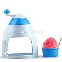 1 piece Home Easy Portable Ice Maker Crusher Manual Machine Snow Cone Machine Ice Block Making Machines