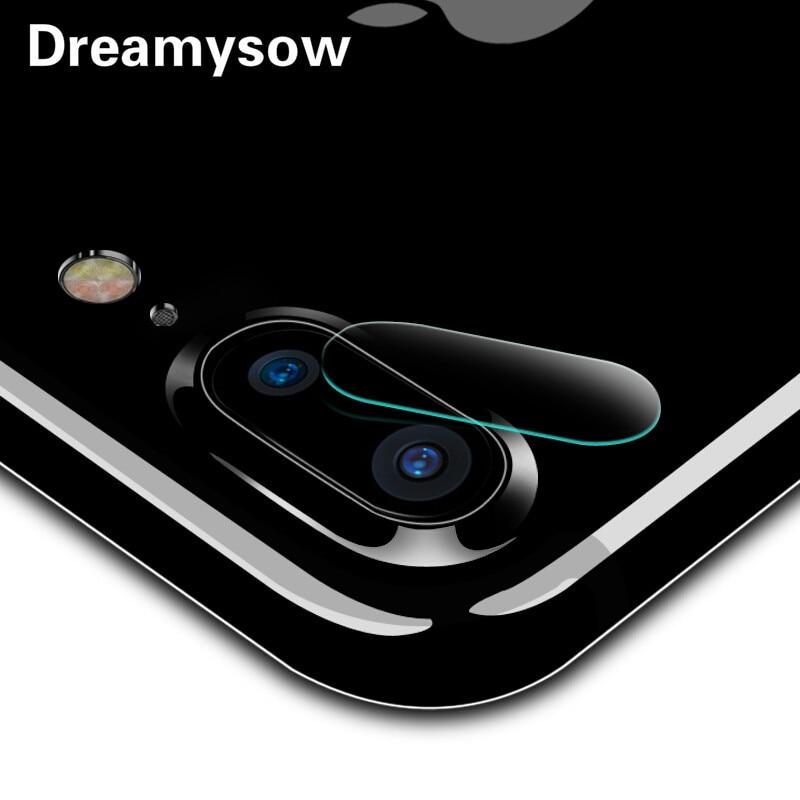 Dreamysow 9H Full Cover Back Camera Lens Tempered Glass Film For iPhone X 8 Plus 7 7Plus 6Plus 6sPlus 6 6S Screen Protector Film