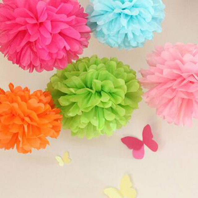 Paper flowers balls 5pcslot 1230 cm wedding decorative props paper flowers balls 5pcslot 1230 cm wedding decorative props tissue mightylinksfo