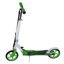 New Scooter Aluminum Alloy Folding Height Kick Scooters Adjustable Two Rounds Outdoor Double Damping Push Adults Foot Scooters