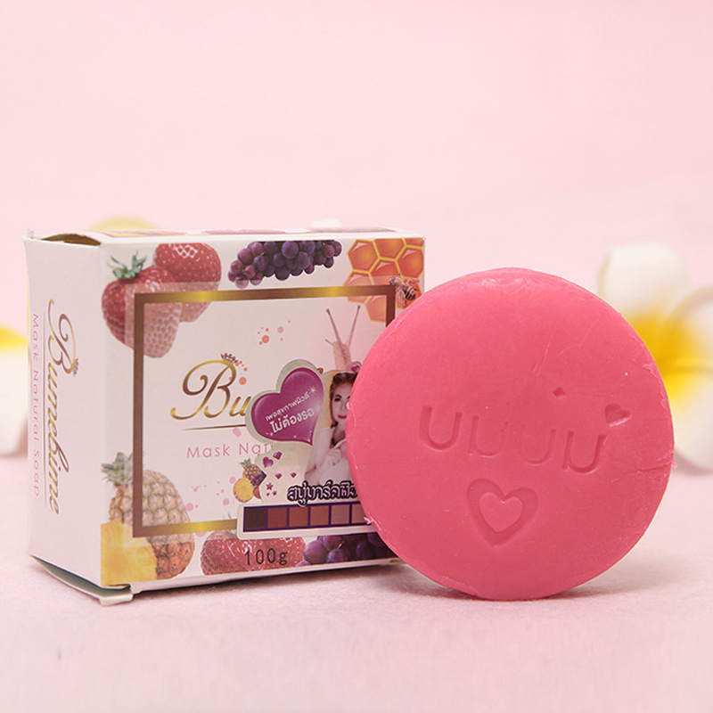Dropshipping Whitening Soap Face Moisturizing Deep Cleaning Oil Control Soap SMJ
