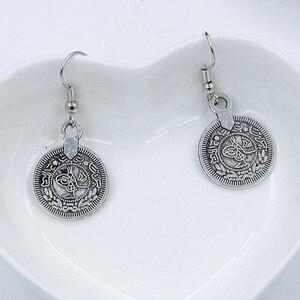 Miss JQ National Wind New Gypsy Zamac Vintage Tibetan Silver Earrings Coins Statement Earrings For Women Jewelry Gifts
