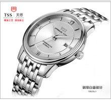 TSS 2016 Новый Лучший Бренд Высокого Качества Вскользь Бизнес Classict мужские часы Механические Наручные Часы