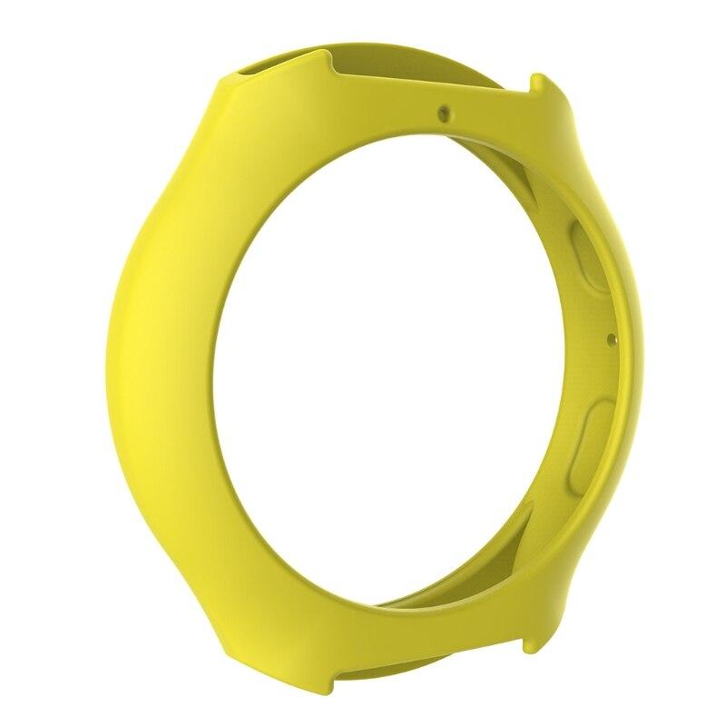 Мягкий силиконовый защитный чехол для SamsungGalaxy gear S2 SM-R720 и SM-R730 - Цвет: Y