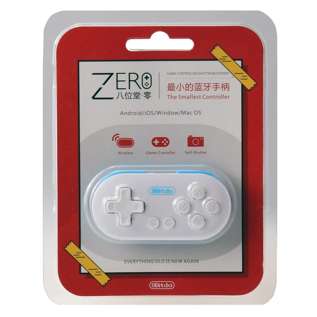 8Bitdo Zero Wireless Gamepad Controller for Android iOS Windows Mac