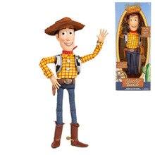 Disney Pixar juguete historia 4 Sherif Woody vaquero puede hablar de luz y sonido, Buzz, Buzz Lightyear juguetes Jessie figuras de acción de juguete para los niños
