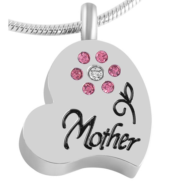 Mother Flower Urn Necklace