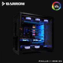 لوح أكريليك بارو كقناة مياه تستخدم ل LIAN LI O11 ديناميكية وحدة معالجة خارجية للحاسوب/برغي إصلاح/بدلا من ذلك خزان/5 فولت 3PIN RGB ضوء