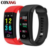 COXANG F07 Smart Bracelet Fitness Tracker Measurement of Blood Pressure Smart Band Pulsometer Watch Activity ip68 Fit Wristband