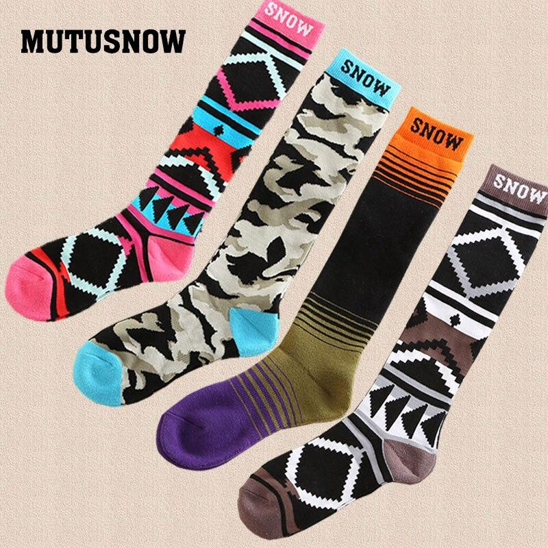 New Winter Warm Men and Women Thermal Ski Socks Outdoor Running Sports Snowboard Cycling Skiing Socks Thermosocks Leg Warmer