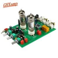 GHXAMP Bluetooth 6J5 Tube Preamplifier Tone Board NE5532 Preamp Tweeter  Bass Adjust Bile Pre Speakers Amplifier DIY Analog Input
