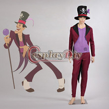 The Princess and the Frog Dr. Facilier Adult Men Cosplay Costume Halloween Anime Cosplay Outfit Custom Made D0604