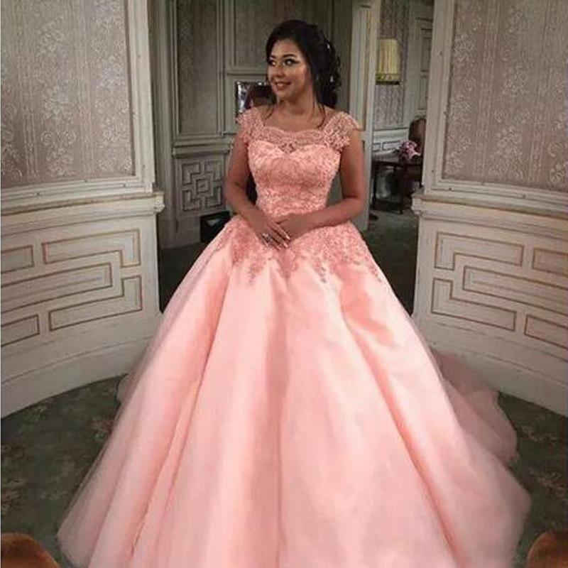 Rose Plus Robes La Élégante Robe Bal Maxi Taille Soirée Appliques Femmes Dentelle De Satin Tulle ZqpTSrxZ