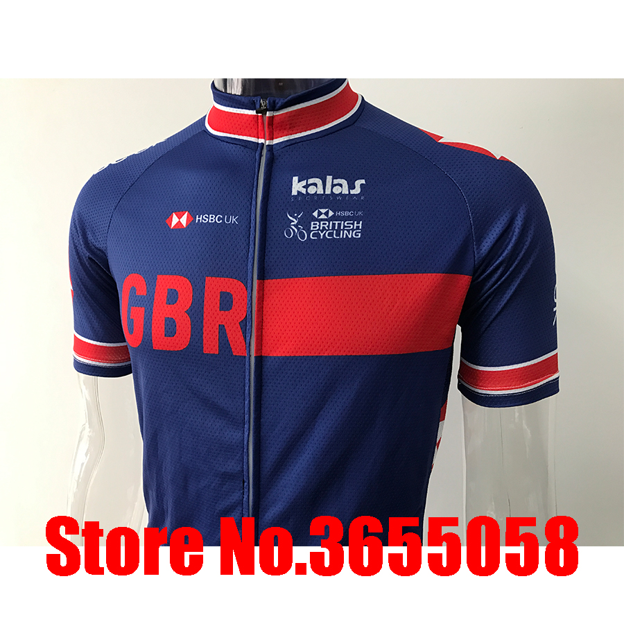 kalas hsbc uk pro Olympic champion 2019 custom clothing cycling jersey aero maillot bike tops wear ropa ciclismo hombre uniforme in Cycling Sets from Sports Entertainment