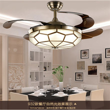 JCZ LED 36inch And 42inch 90cm 108cm 24 40W Ceiling Fan Mini Style