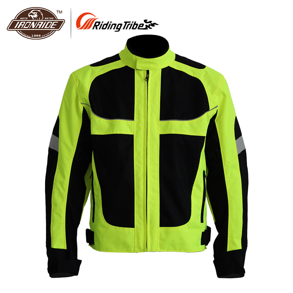 Riding Tribe Breathable Motorcycle Jacket Racing Protective Armor Jacket Summer Motorcycle Protector Riding Jackets Motorcycle rsj285 jacket summer motorcycle jacket men riding windbreaker with 5 sets of protective equipment