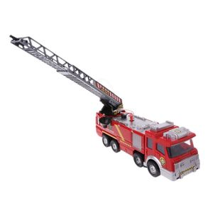 Image 3 - Spray Water Truck Toy Fireman Fire Truck Car Music Light Educational Toys Boy Kids Toy Gift