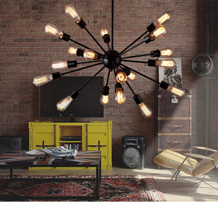 online buy wholesale ufo chandelier from china ufo. Black Bedroom Furniture Sets. Home Design Ideas