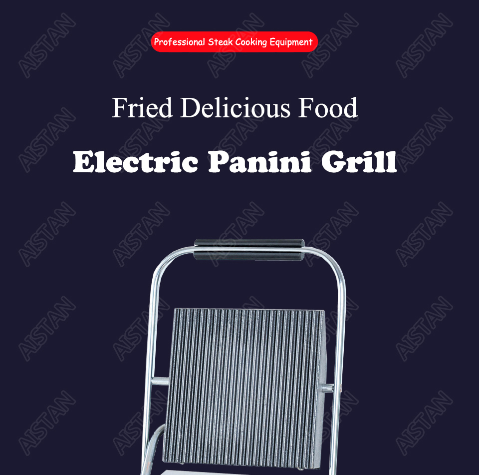 EG811/EG813/EG815 Single/Double Plate Commercial Electric Table Top Panini Grill Machine of Catering Equipment 1