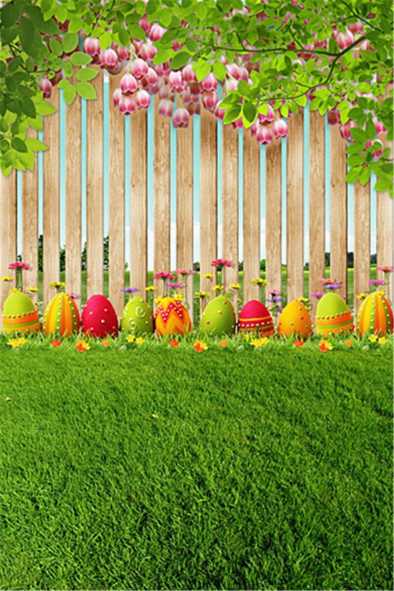 Baru Musim Semi Warna Telur Easter Fotografi Latar ...