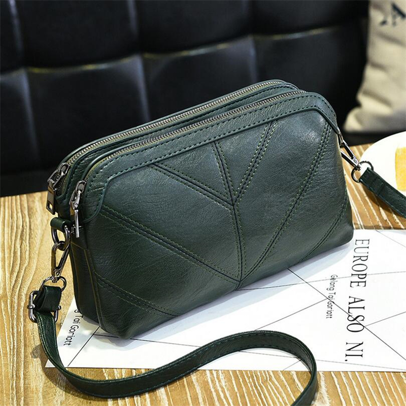 BARHEE 2018 High Quality Leather Handbag Wanita mewah Messenger Bag Soft pu Kulit Fesyen Ladies Crossbody Bags Bolsas Perempuan