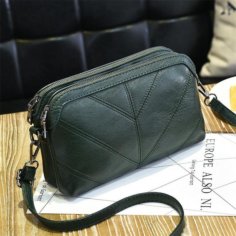 BARHEE 2018 High Quality Leather Women Handbag Luxury Messen