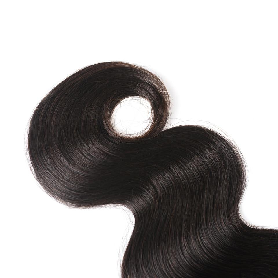 HTB1T42ah5CYBuNkHFCcq6AHtVXa2 Peruvian Hair Bundles with Closure Body Wave Bundles with Closure 3 Bundles with Closure Queen Mary Non Remy 100% Human Hair