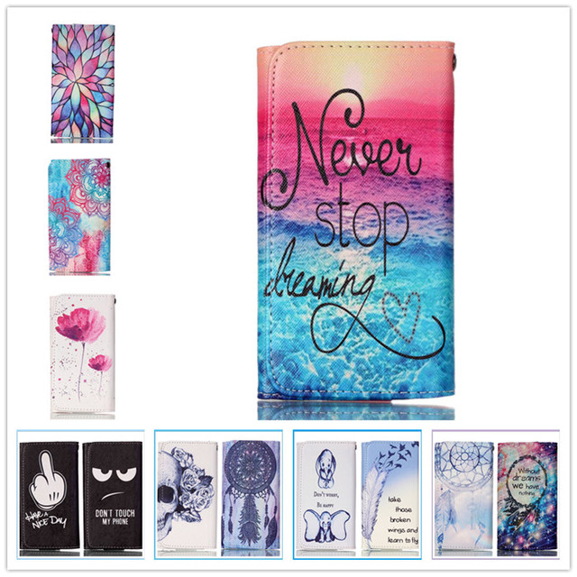 For BLU Case Mobile Phone Case High Quality Fashion Painting Wallet Case For BLU Studio M HD S110L, S110U Free Shipping