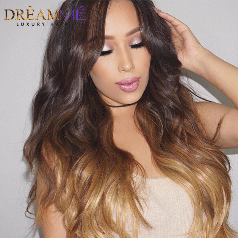Dreaming Queen Hair Body Wave Ombre Brasilian Human Non Remy Hair 3 - Menneskehår (sort) - Foto 6