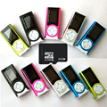 New Arrival Shiny Mini USB Clip LCD Screen MP3 Media Player Support 16GB Micro SD Wholesales