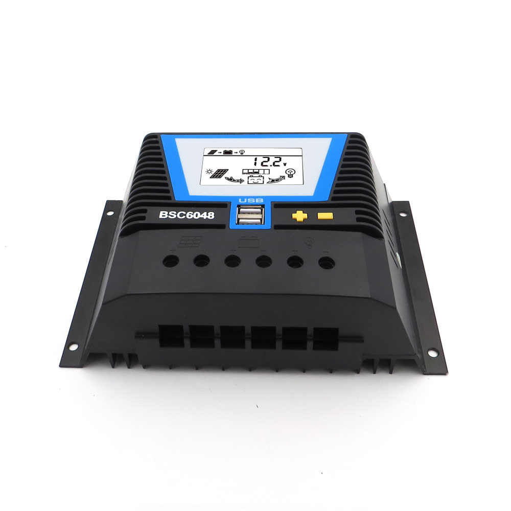 80A/60A/50A/40A/30A/20A/10A 12/24/36/48 V Солнечный Контроллер заряда 12 V 24 V 36 V 48 V авто Подсветка LiFePO4 литий Батарея 3,2 V 3,7