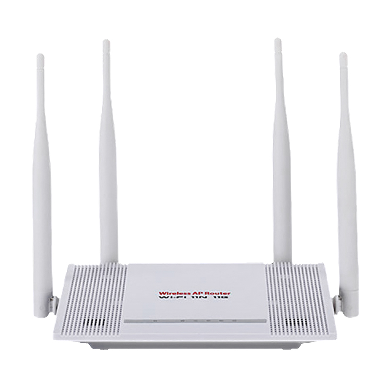 TEROW 300Mbps WiFi router 2.4G Wi-Fi Repeater Router Wireless WIFI 4* 5dBi external antennas easy setup Version