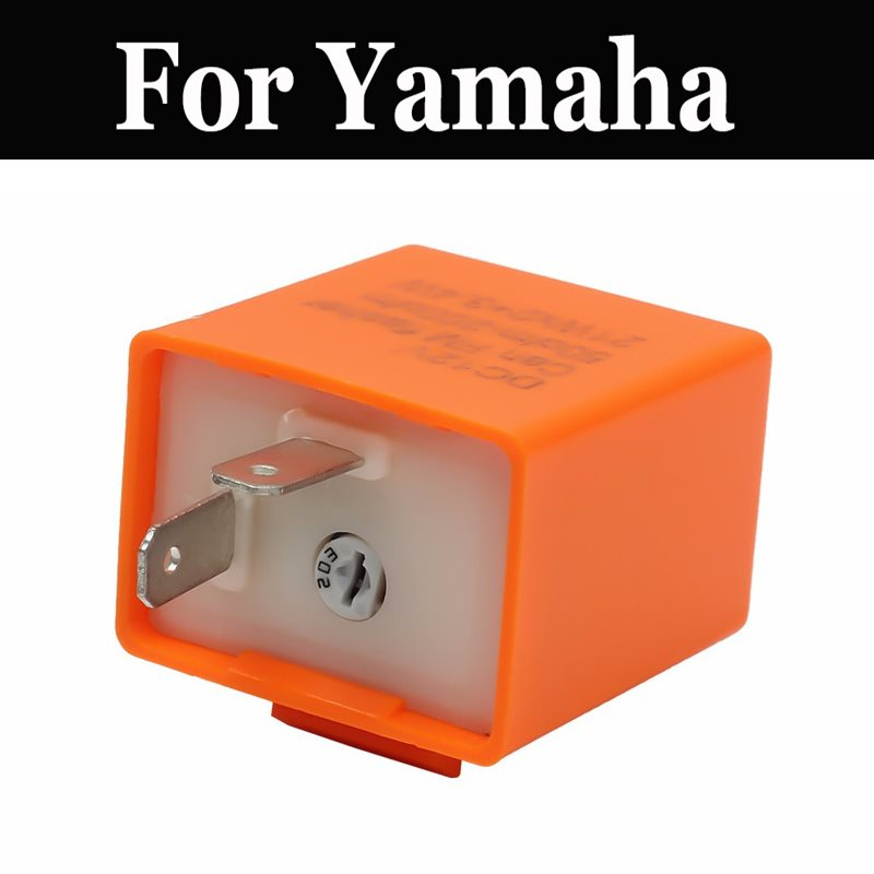 12v Motorcycle Blinker Adjustable <font><b>Led</b></font> Flasher Relay Turn Signal For Yamaha Gen Morpho Mt It 200 250 <font><b>490</b></font> Gts1000 Gx250 400sp image