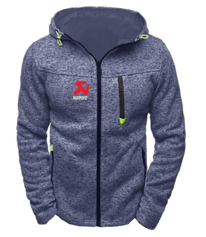 b491282e6 2019 Marca hoodies das camisolas Dos Homens Motocross YAMAHA AKRAPOVIC jas  Suzuki casuais moletom com capuz Zipper jaqueta agasalho com capuz moletom  com ...