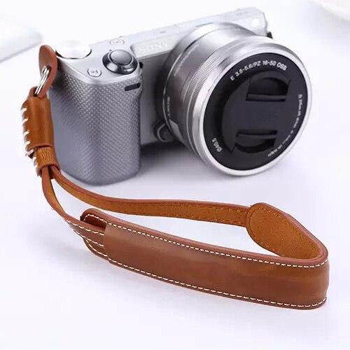 Camera Strap Leather Hand Grip Wrist Strap Rope For Sony a6500 a6300 a6000 a5100 a5000 NEX5T NEX5N 5R NEX3N NEX6 NEX7