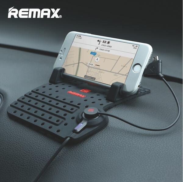 imágenes para Remax soportes soporte para teléfono soporte para coche soporte ajustable conector magnético con cable de carga usb para iphone teléfonos android