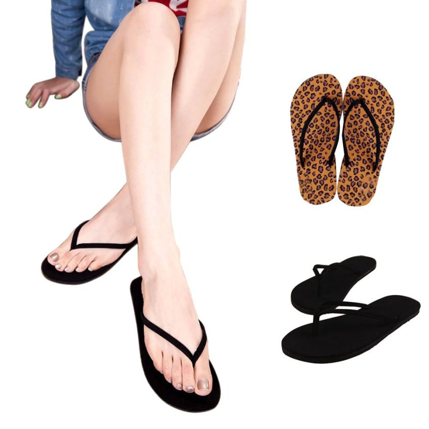 2018 slippers women summer casual Flip Flops Shoes Sandals Slipper indoor & outdoor Flip-flops 4.9