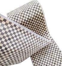 L:2.5Meters  Width:40cm Thickness:0.25mm  checkerboard parquet wood veneer furniture decorative veneer