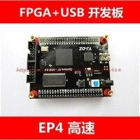 Free Shipping EP4CE10 Altera Cyclone FPGA USB Development Board Y7c68013 High Speed USB2 0