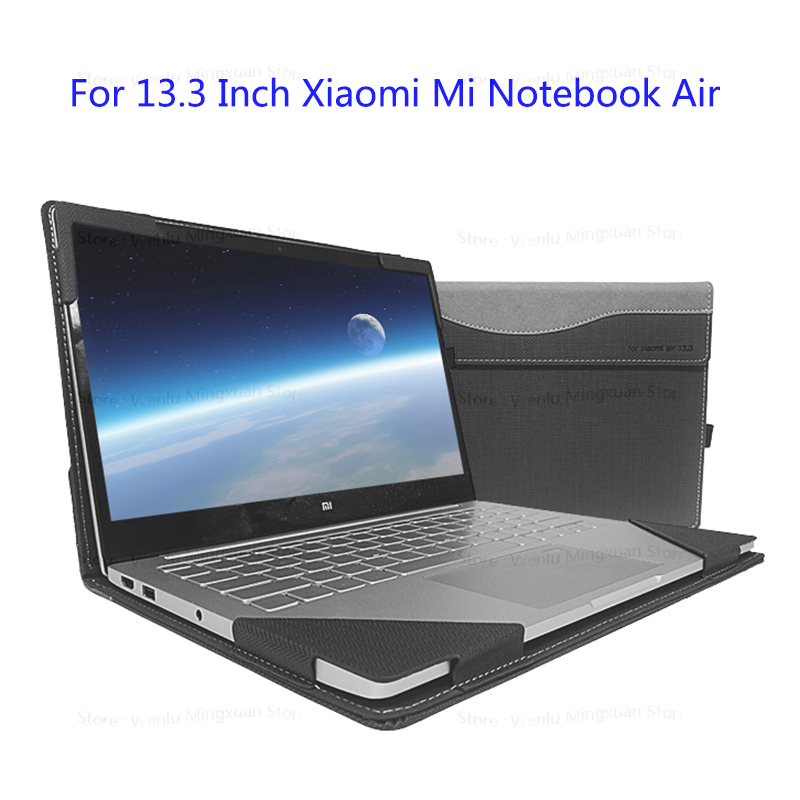 Laptop Case For Xiaomi Mi Notebook Air 13.3 Inch PU Leather Protective Cover For Ultrabook Laptop Xiaomi Air 13 Stylus As Gift keybook cover solid hard cover for xiaomi mi air 12 5 13 3 inch laptop protective shell skin for mi air 12 13 notebook case