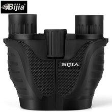 Wholesale prices BIJIA 10X25 Mini Binoculars Professional HD Binoculars Telescope Opera Glasses for Travel Concert Outdoor Sports Hunting