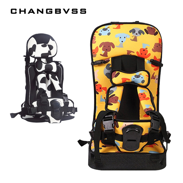 New Arrival 2 Types Baby Child Car Seat Portable Kids Safety Booster