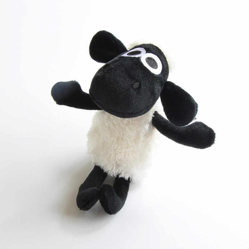 1 pc dos desenhos animados de ovelha cordeiro boneca brinquedos de pelúcia recheado macio brinquedo de pelúcia adorável macio macio macio pelúcia ovelha personagem do bebê brinquedo de aniversário presente
