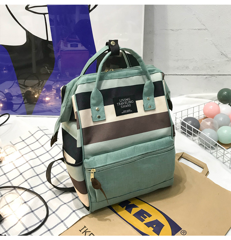 HTB1T469UmzqK1RjSZFHq6z3CpXaq 2019 Korean Style Women Backpack Canvas Travel Bag Mini Shoulder Bag For Teenage Girl School Bag Bagpack Rucksack Knapsack